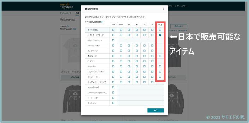 日本で販売できる商品
