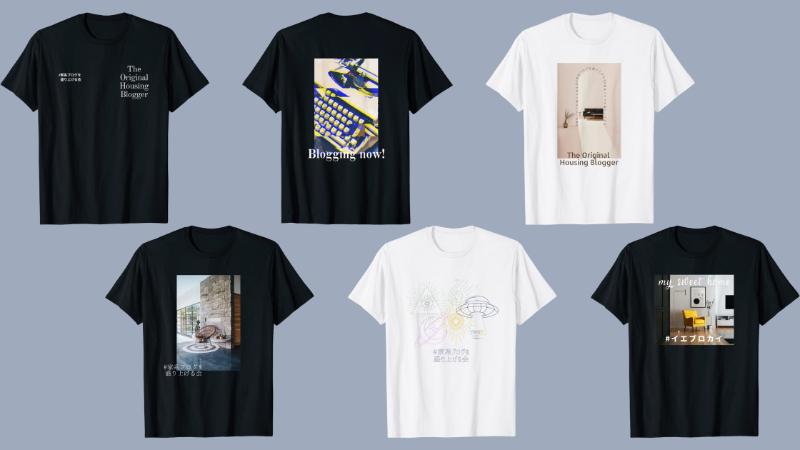 でかサモちゃんが作ったTシャツデザイン